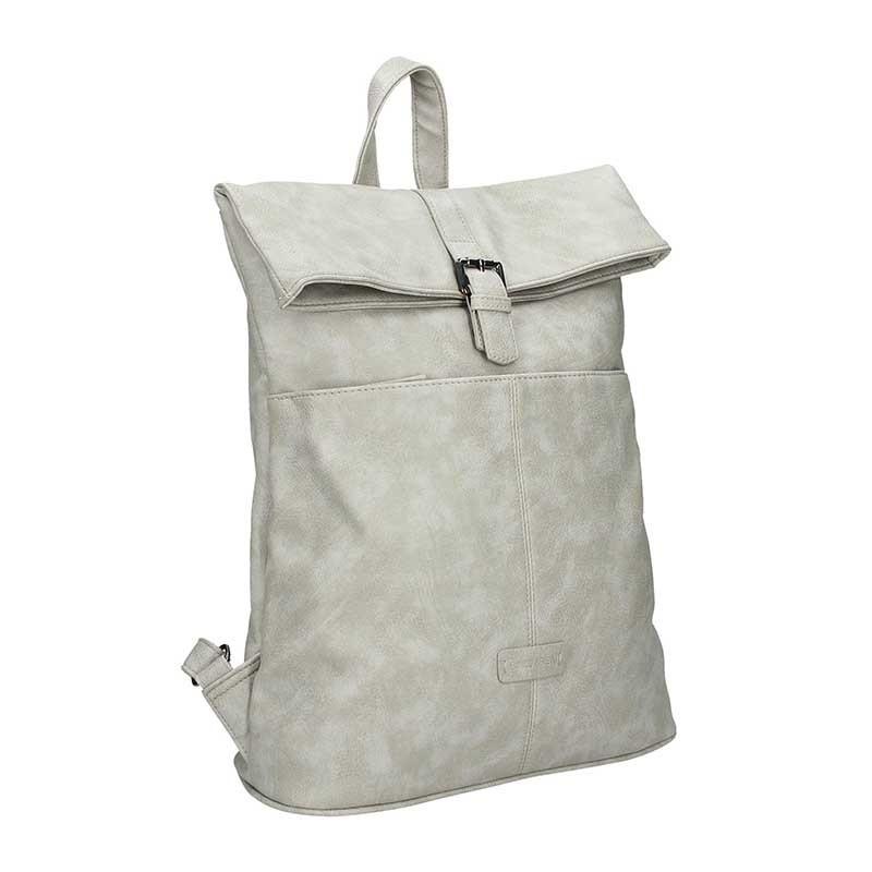 Moderní dámský batoh Enrico Benetti Ninna - světe šedá