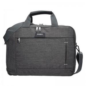Pánská taška přes rameno Enrico Benetti Paul - šedo-černá