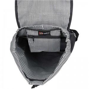 Trendy batoh New Rebels Lisabon - černo-šedá