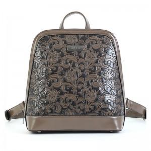 Dámský batoh Doca 15145 - tmavě béžová