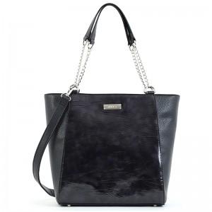 Dámská kabelka Doca 15530 - černá