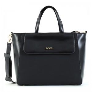 Dámská kabelka Doca 15495 - černá