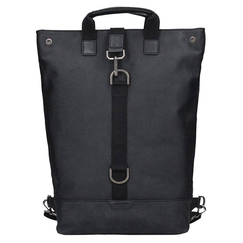 Moderní pánský batoh Hexagona Thors - černá