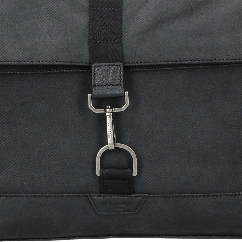 Pánská taška přes rameno Hexagona Lines - černá