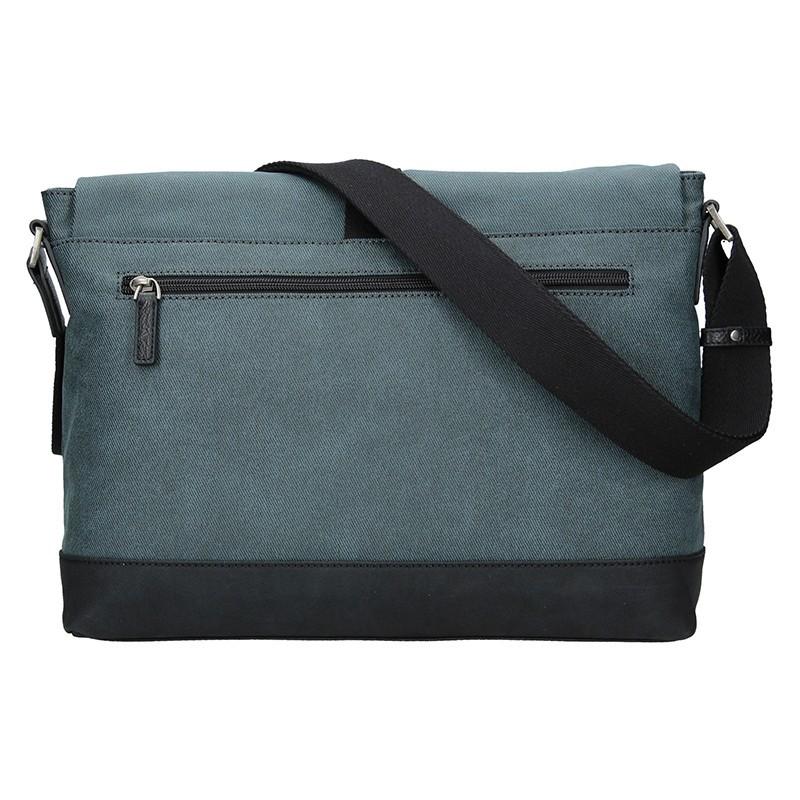 Pánská taška přes rameno Hexagona Lines - modrá
