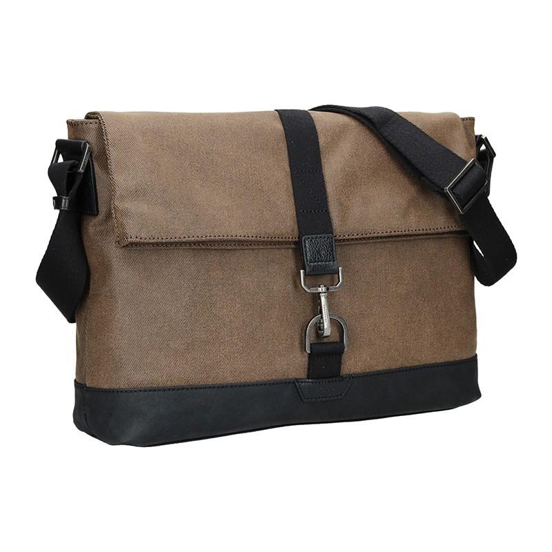 Pánská taška přes rameno Hexagona Lines - hnědá