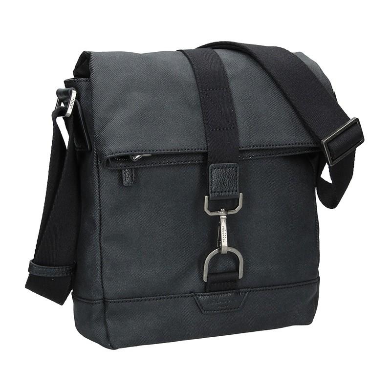 Pánská taška přes rameno Hexagona Folga - černá