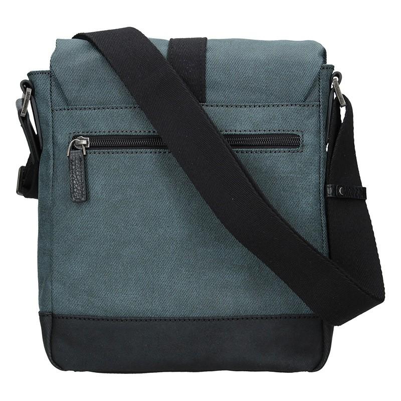 Pánská taška přes rameno Hexagona Folga - modrá