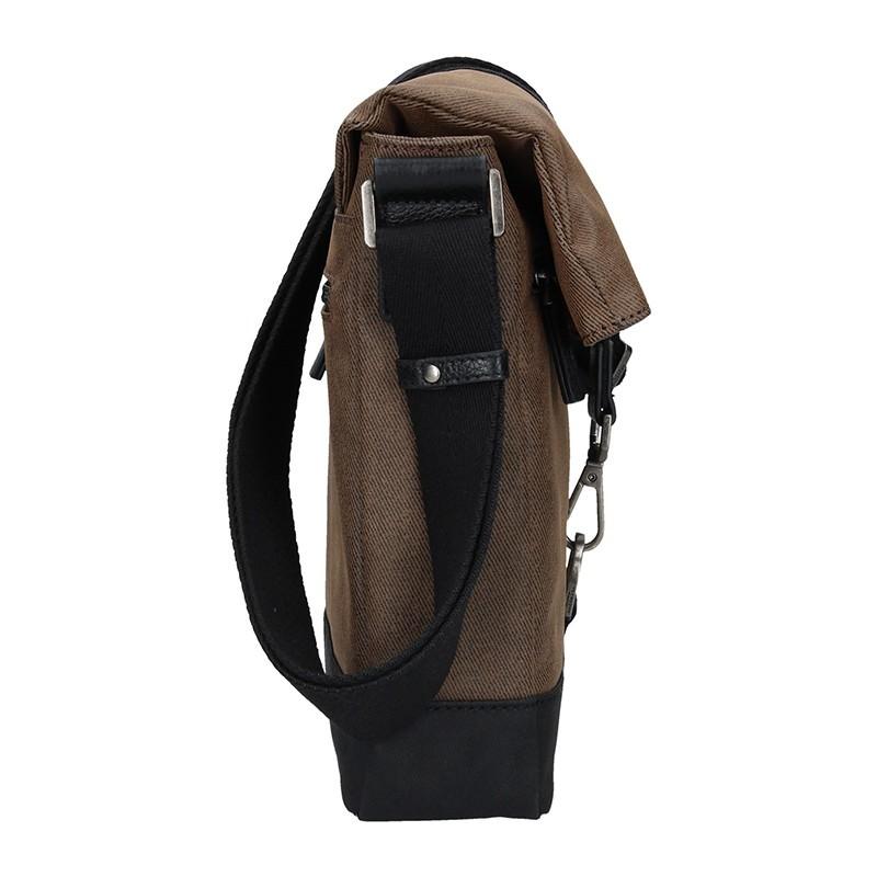 Pánská taška přes rameno Hexagona Folga - hnědá