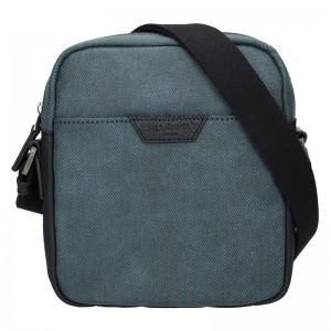 Pánská taška přes rameno Hexagona Ignac - modrá