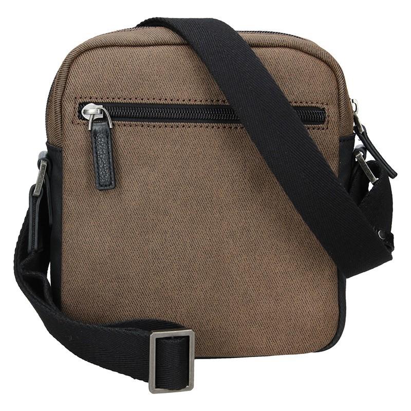 Pánská taška přes rameno Hexagona Ignac - hnědá