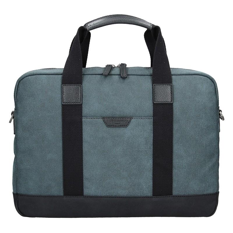 Pánská taška přes rameno Hexagona Dyton - modrá