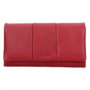 Dámská kožená peněženka Lagen Nicol - červená