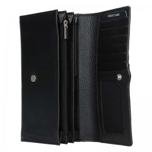 Dámská kožená peněženka Lagen Kasandra - černá