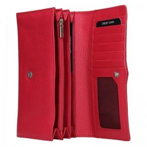 Dámská kožená peněženka Lagen Kasandra - červená