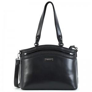 Dámská kabelka Doca 15315 - černá