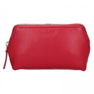 Dámská kosmetická taštička Lagen Maria - červená