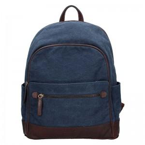 Pánský batoh Lagen Erik - modro-hnědá