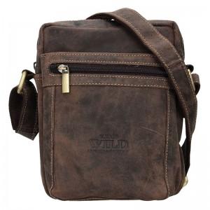Pánská taška přes rameno Always Wild Fredy - světle hnědá