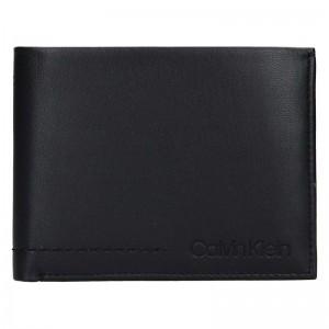 Pánská kožená peněženka Calvin Klein Tobin - černá