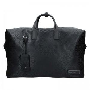 Pánská cestovní taška Calvin Klein Roben - černá