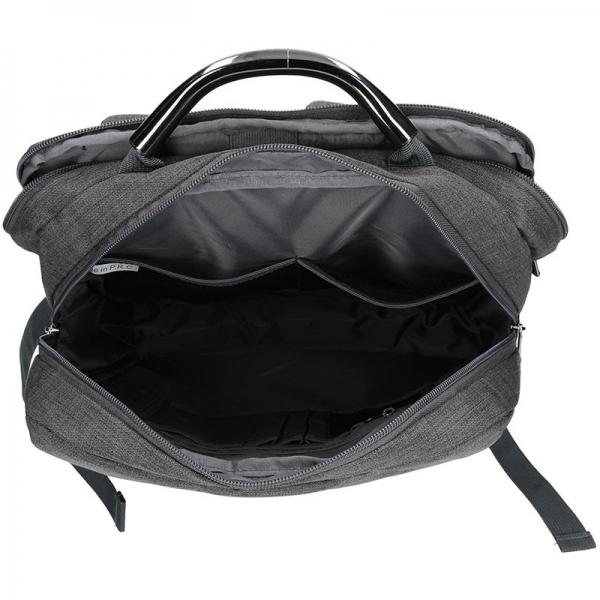 Pánský batoh Enrico Benetti Boldn - šedo-černá