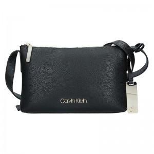 Dámská crossbody kabelka Calvin Klein Gweny - černá