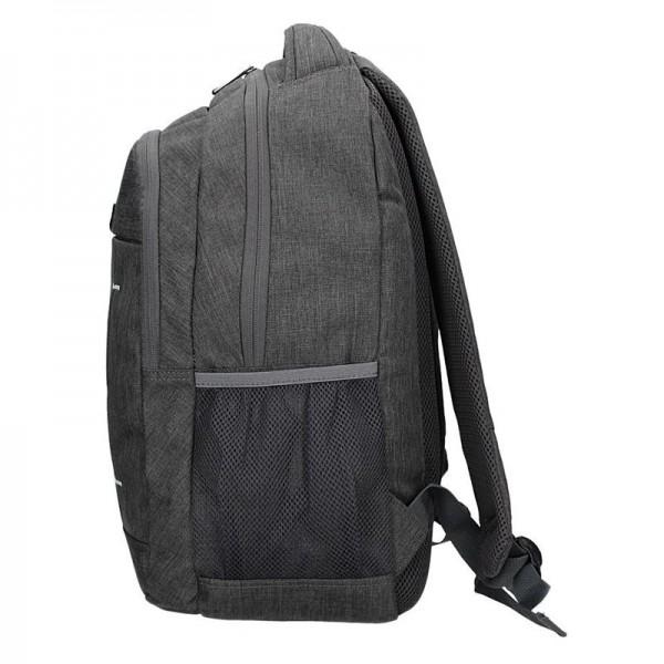 Pánský batoh Enrico Benetti Igor - šedo-černá