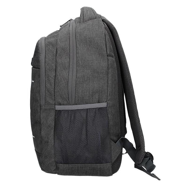 2736902a5a ... Pánský batoh Enrico Benetti Igor - šedo-černá 27l. + 2 další