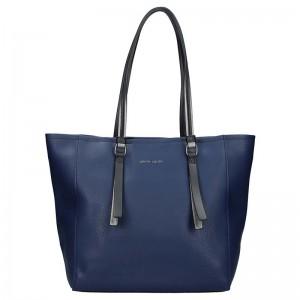 Dámská kabelka Pierre Cardin Emma - modrá