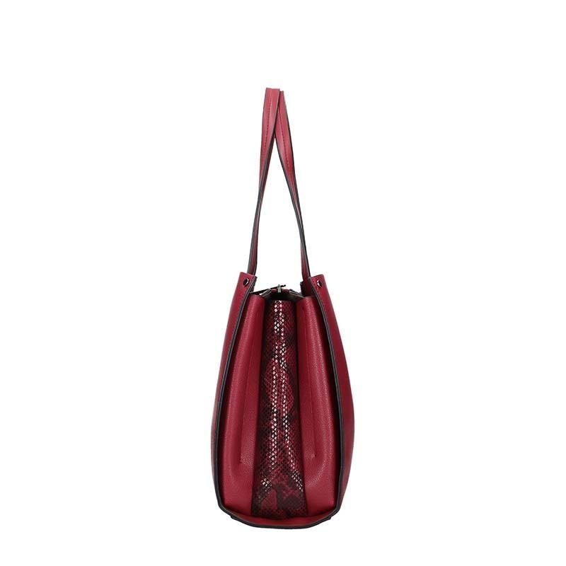 Dámská kabelka Pierre Cardin Monic - vínová