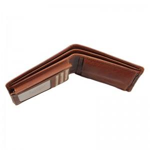 Pánská kožená peněženka Lagen Tex - světle hnědá
