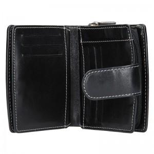 Dámská kožená peněženka Lagen Marcela - černá