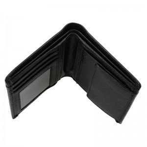 Pánská kožená peněženka Lagen Liom - černá