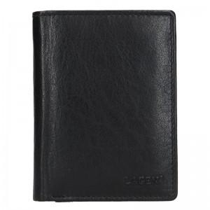 Pánská kožená peněženka Lagen Pavlov - černá