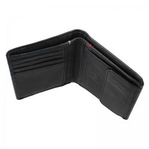 Kožená pánská peněženka Lerros Sid - černá