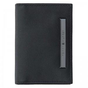 Pánská kožená peněženka Tommy Hilfiger Abel - černá