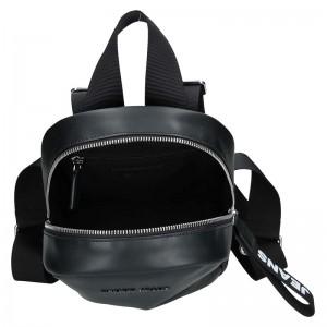 Dámský batoh Tommy Hilfiger Jeans Monic - černá