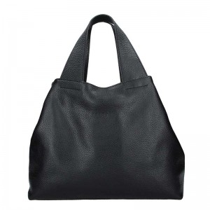 Dámská kožená kabelka Facebag Sofi - černá