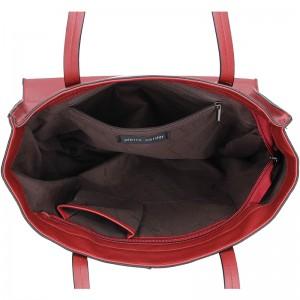 Dámská kabelka Pierre Cardin Anona - červená