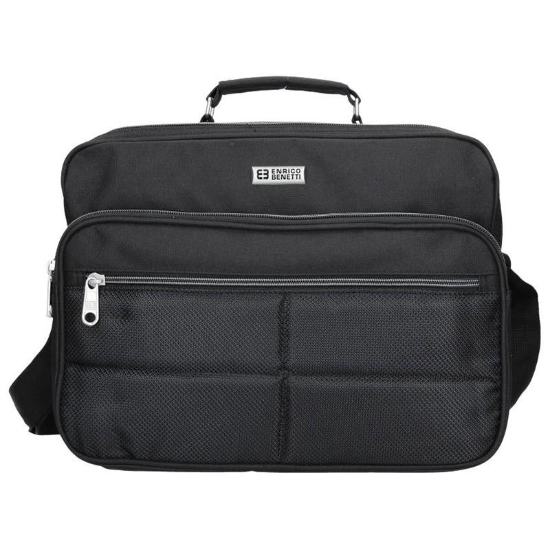 Pánská taška přes rameno Enrico Benetti Felix - černá 4a6d3ac60e