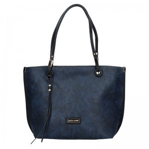 Dámská oboustranná kabelka Pierre Cardin Apolen - modro-šedá