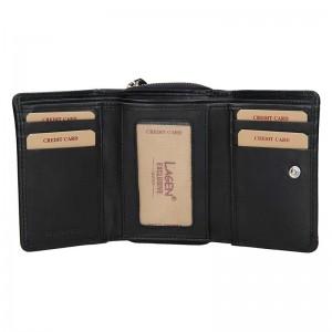 Dámská kožená peněženka Lagen Aiga - červená