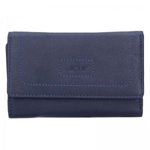 Dámská kožená peněženka Lagen Bianka - červená
