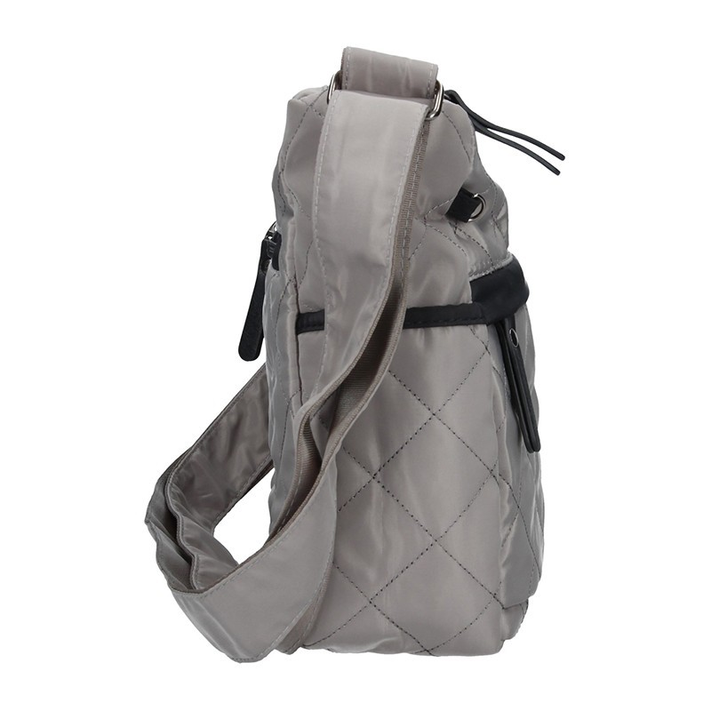 Dámská crossbody kabelka Enrico Benetti 46098 - šedá