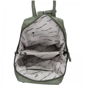 Moderní dámský batoh Just Dreamz Brenda - olivová