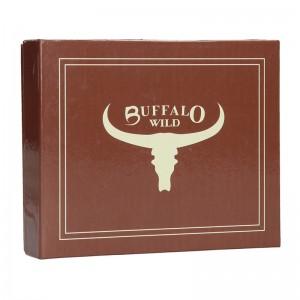Pánská kožená peněženka Wild Buffalo Lowl - černá