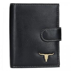 Pánská kožená peněženka Wild Buffalo Marco - černá