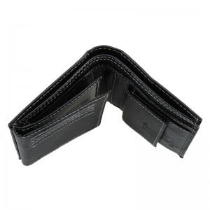 Pánská kožená peněženka Wild Buffalo Rudolf - černá
