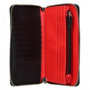 Dámská peněženka Calvin Klein Vanila - černá